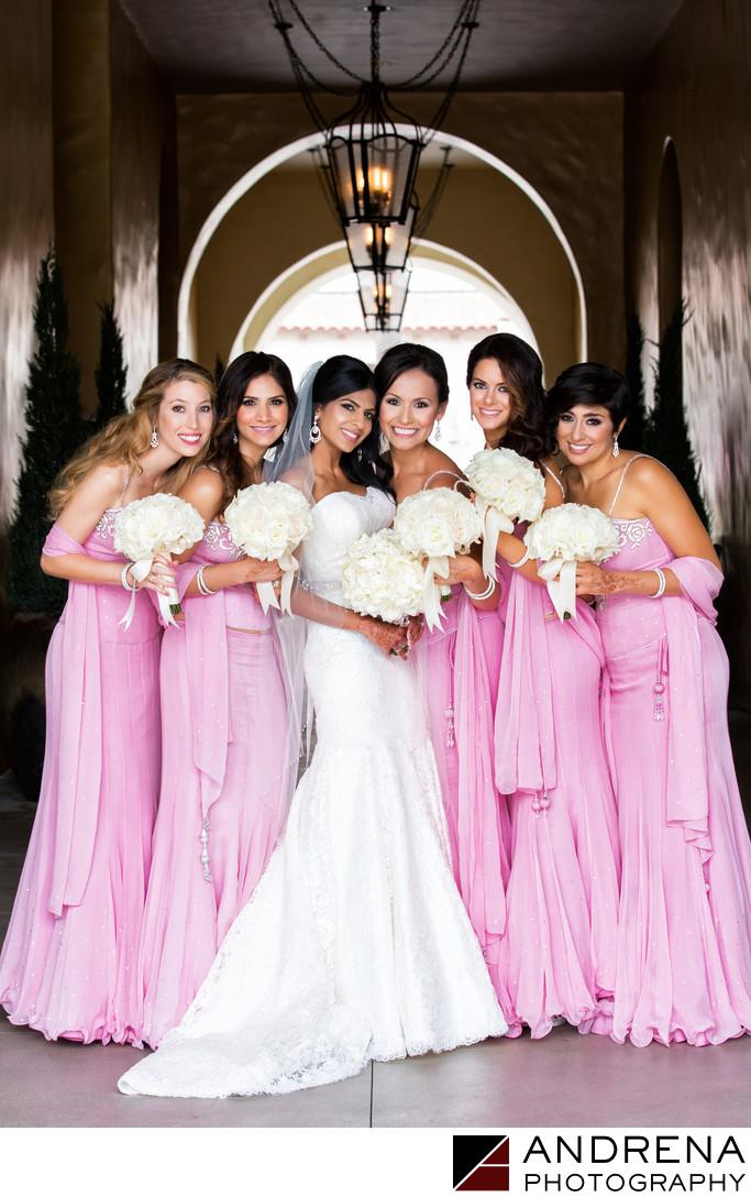 Wedding Photographer Bridesmaids Huntington Beach Hyatt