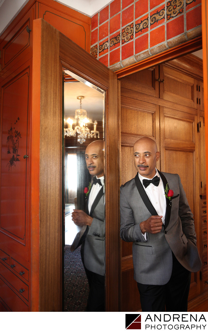 Malibu Wedding Photographer Groom Portrait