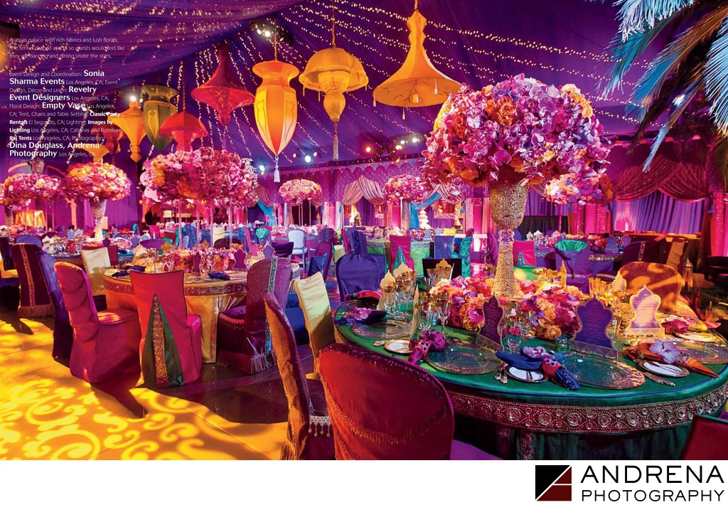 Grace ormonde dina douglass ballroom decor aladdin theme for Aladdin decoration ideas