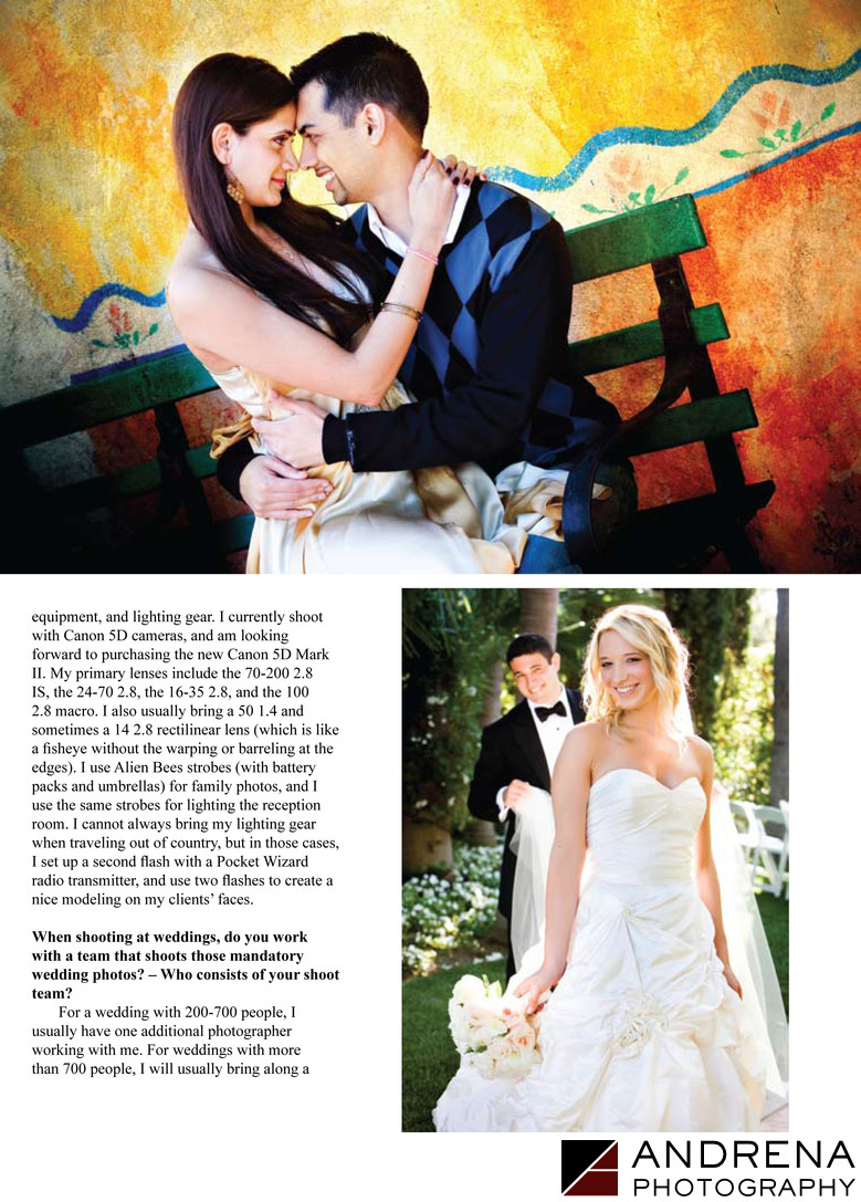 Beverly Hills Hotel Wedding Asian Photo Magazine