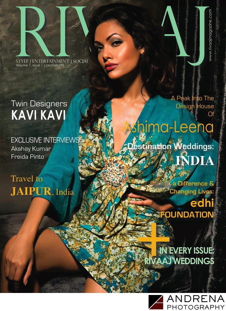 Rivaaj Magazine Cover Sadaf Kherani
