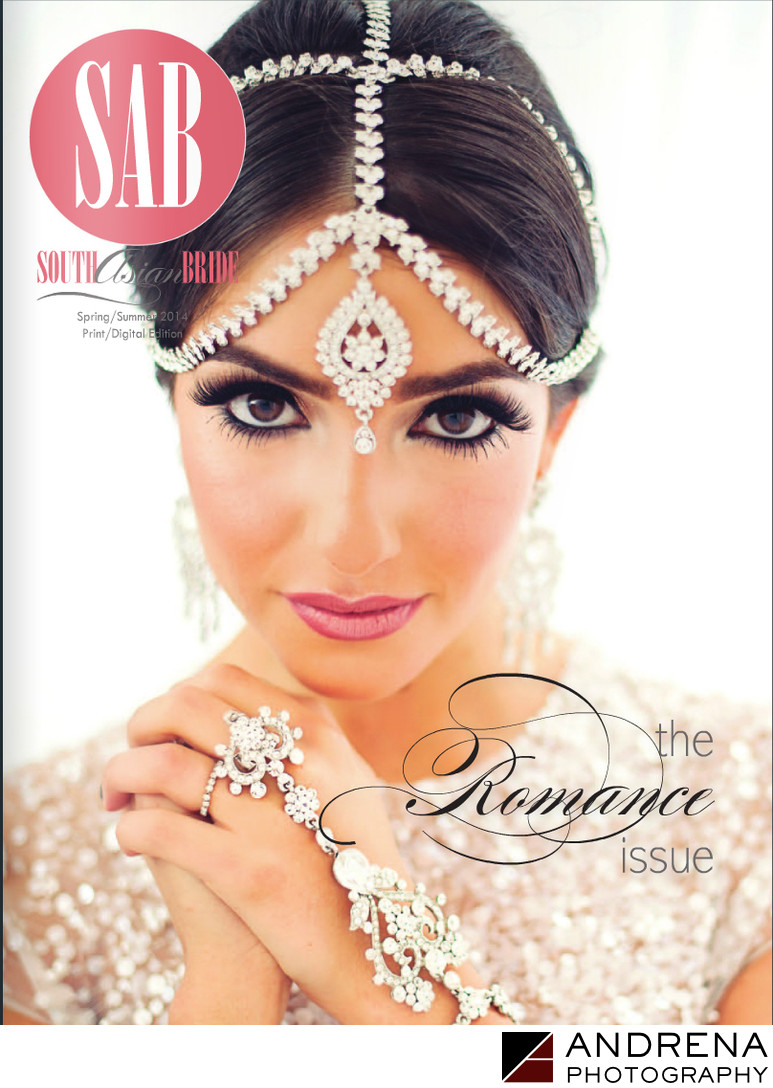 South Asian Bride Magazine Cover Wedding Romance Issue