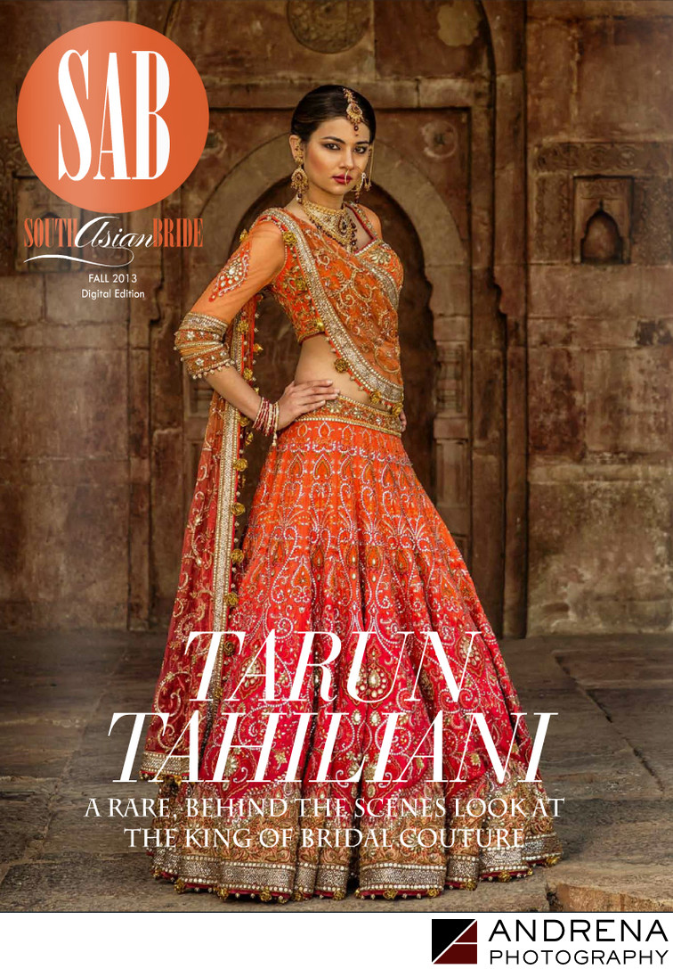 South Asian Bride Magazine Cover