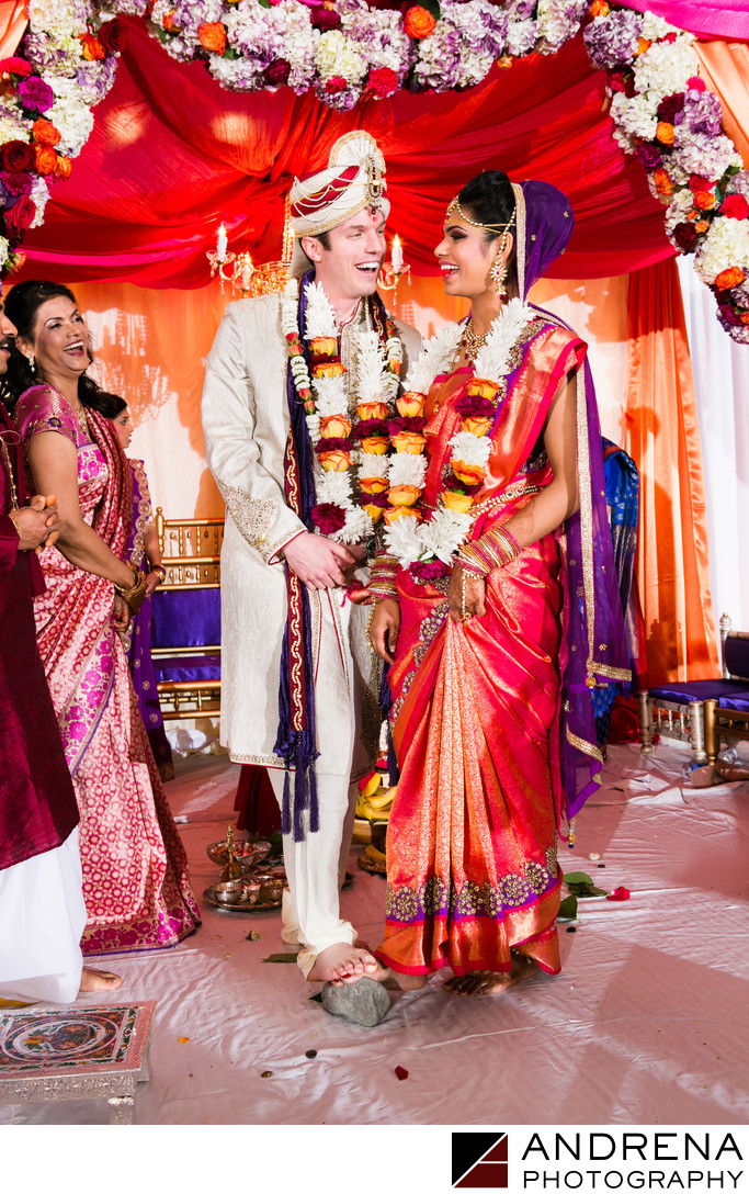 Ritz Carlton Indian Wedding Photographer