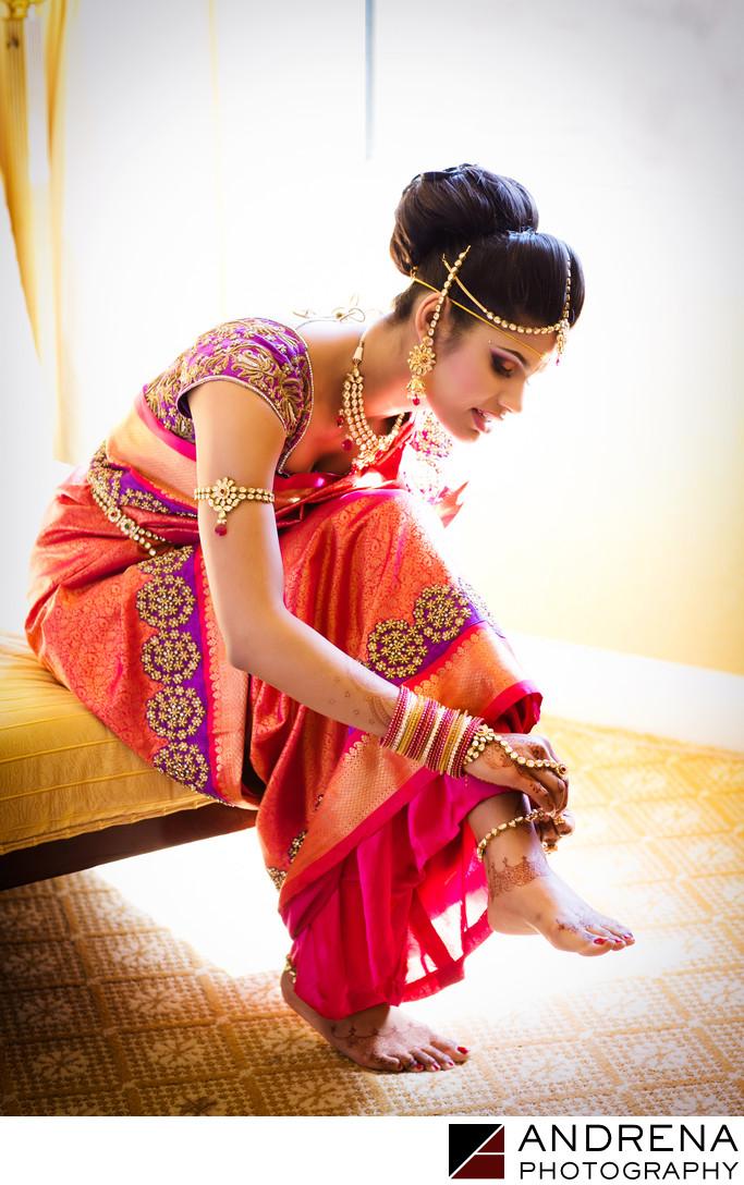 Ritz Carlton Indian Wedding Photographers
