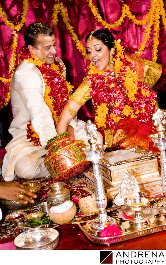 South Indian Wedding Photographer St. Regis Monarch Beach