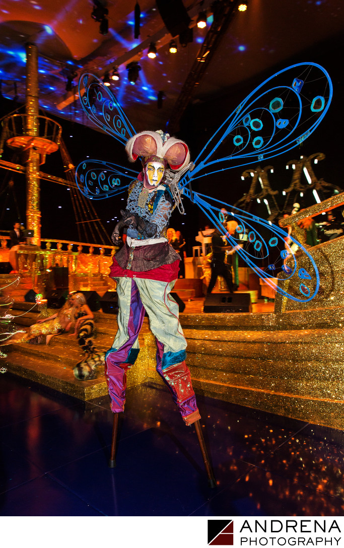 Party Ideas Los Angeles: Dragonfly Stilts Walker