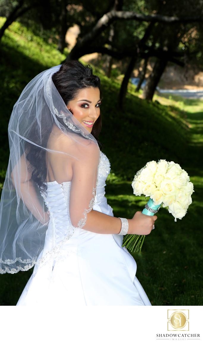 Los Willows Wedding Estate Bride  Shadowcatcher Imagery