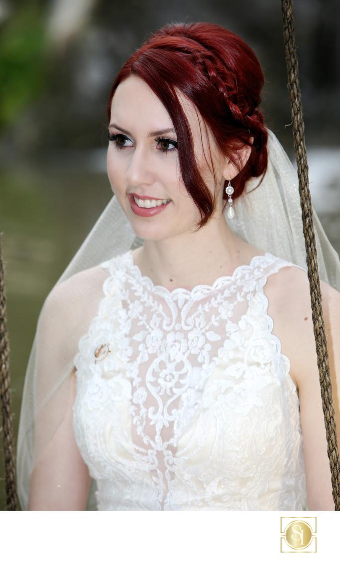 Beautiful Fallbrook Bride   Wedding Photographer