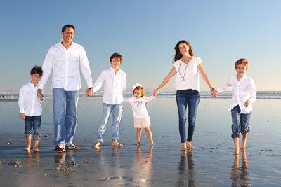 Hotel Del Beach Family