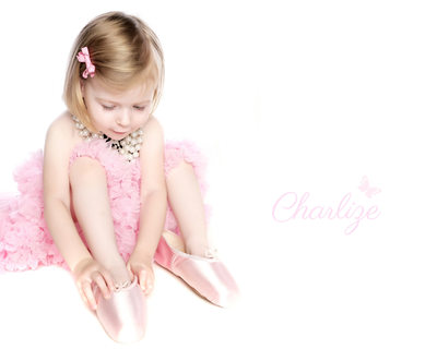 Pretty in Pink Children s Photographer