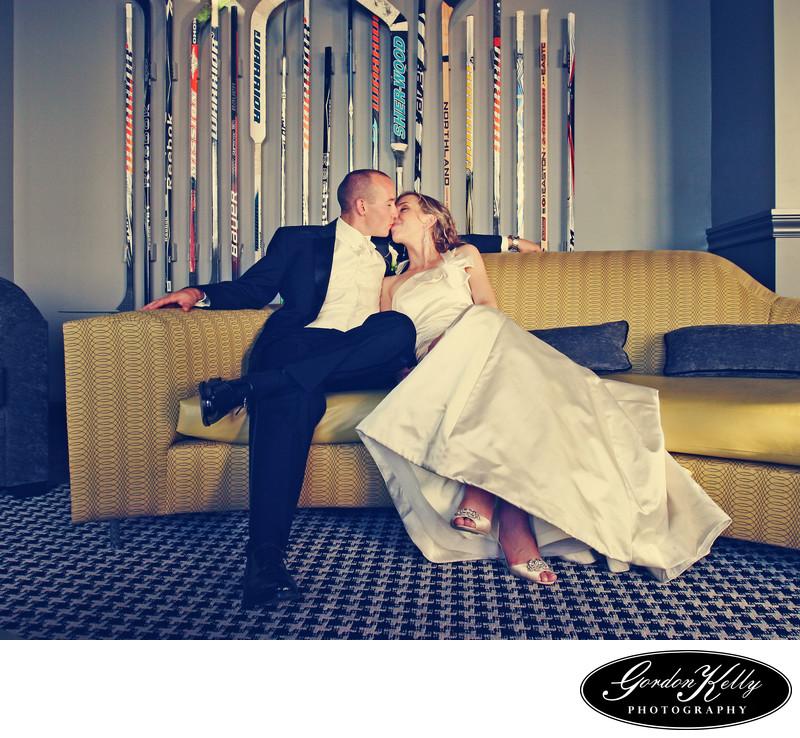 silicon valley capital club wedding photo
