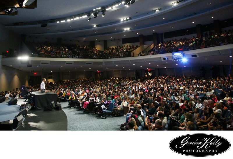 Nick Vujicic, Cathedral of Faith