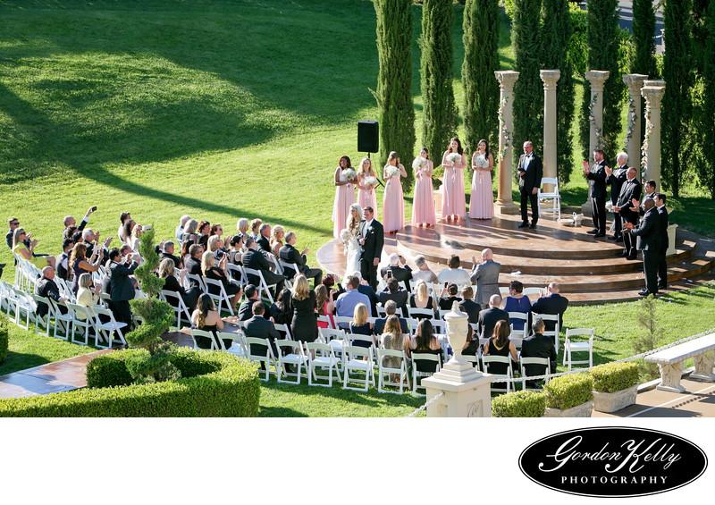 Grand Island Mansion wedding photo