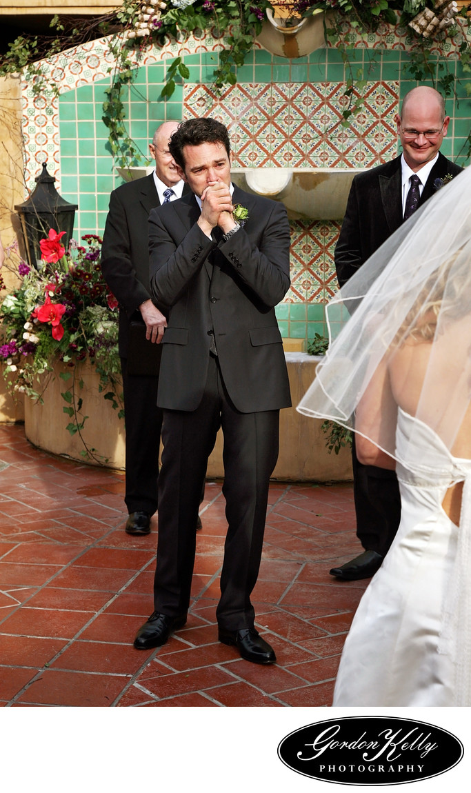 Los Gatos Hotel Wedding Photography