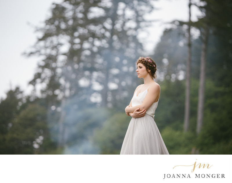 Snohomish Wedding Photographer Photos in forest