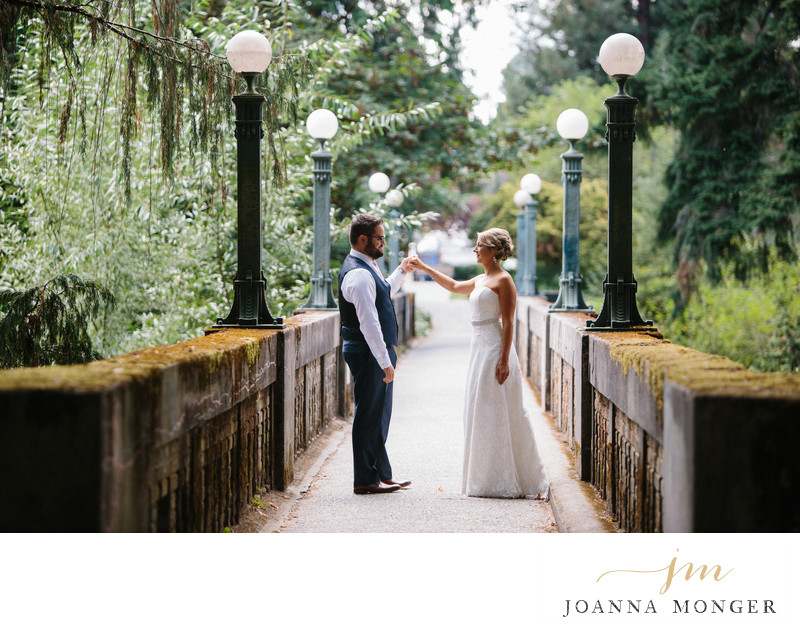 Seattle Arboretum Wedding Photographer - outdoor photos