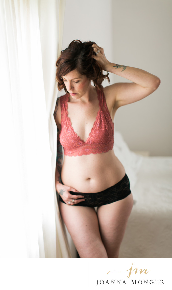 Classy Boudoir Photography Seattle