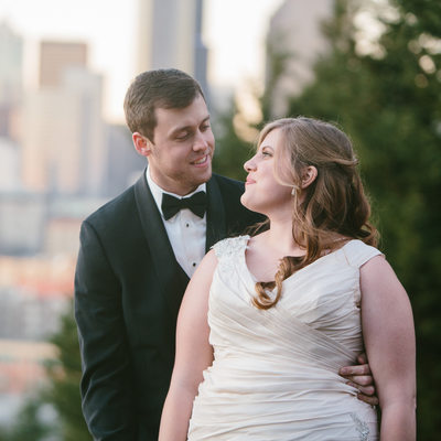 Seattle Wedding Photographer photos at Pacific Tower