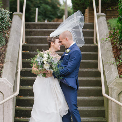 Seattle Wedding Photographer at Pacific Tower Venue
