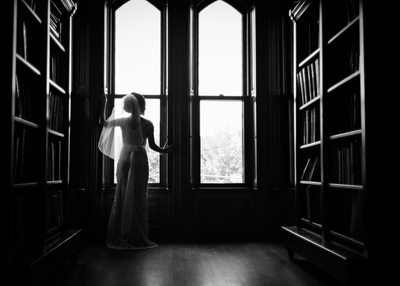 Bride at Kimball Jenkins Estate