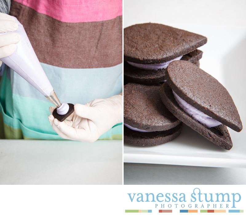 Lavender Noir Gourmet Cookie