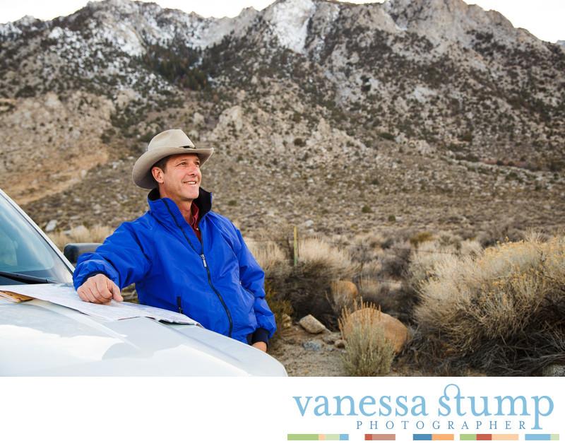 Environmental portrait of Shane Henry
