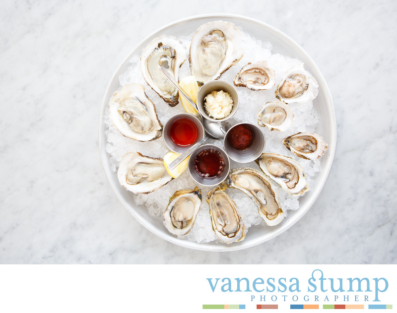East and west coast oysters