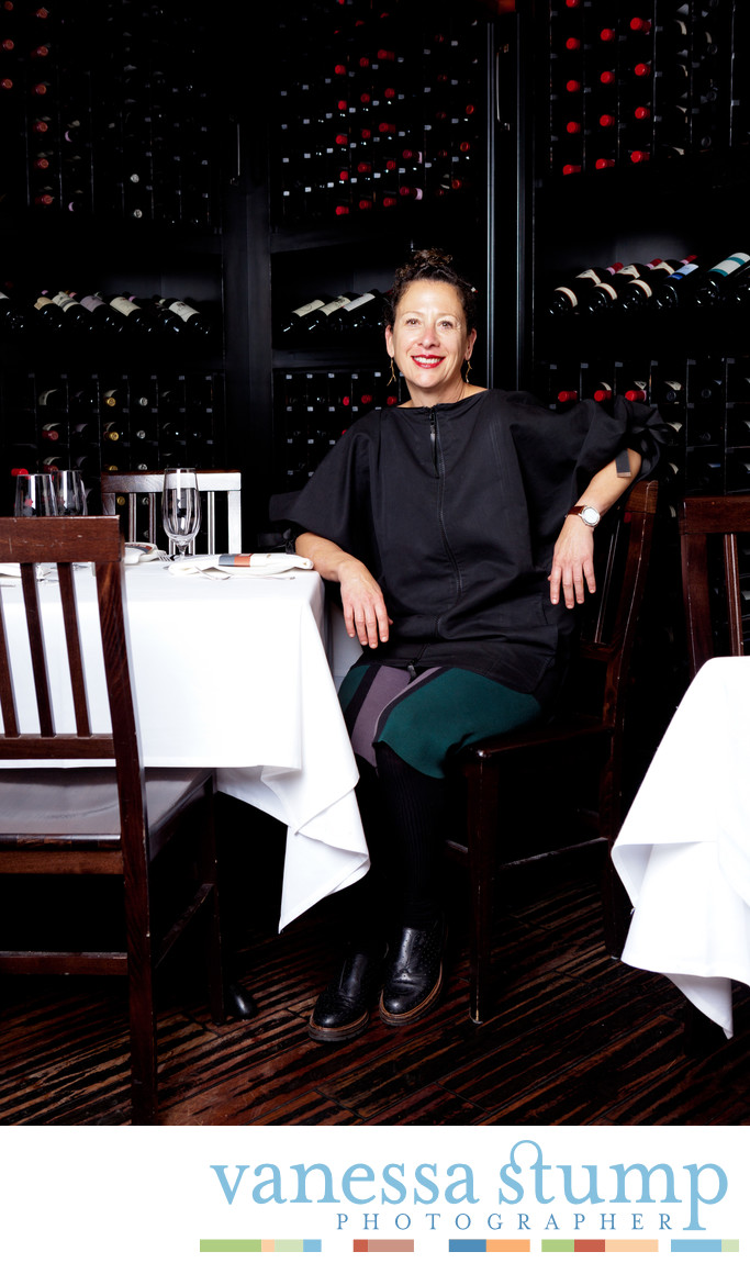 Chef Nancy Silverton at Mozza