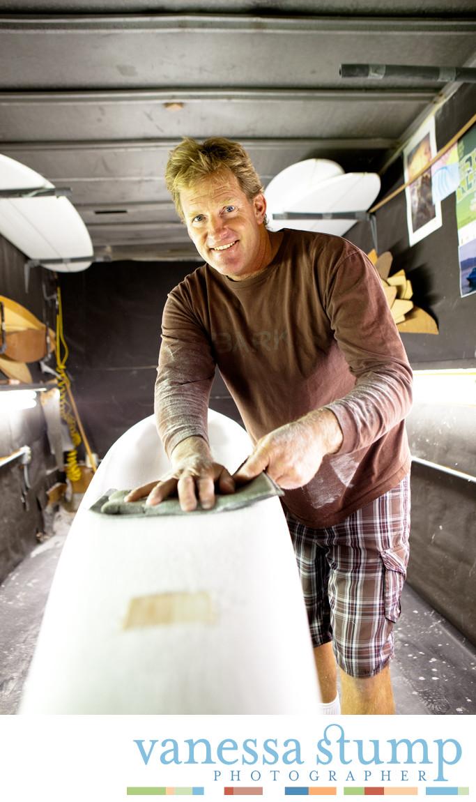 Portrait of Joe Bark of Bark Paddleboards