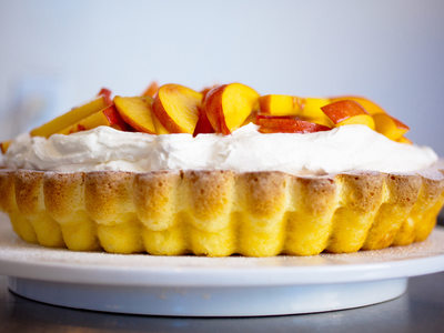 Fresh Nectarine Summer Pie