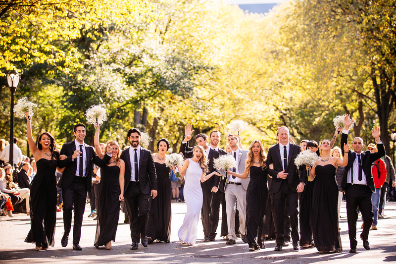 Central Park, New York City Wedding