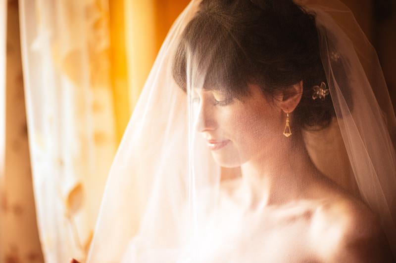 Mississauga, Ontario, Canada Wedding Veil
