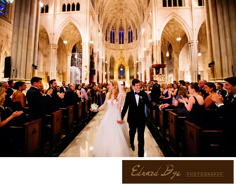 St. Patrick's Cathedral Manhattan New York City Wedding