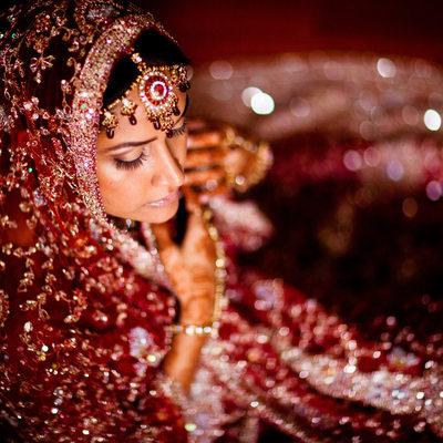 Elmhurst Queens New York Indian Wedding Portrait