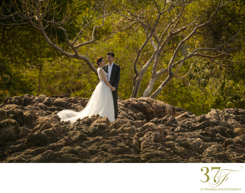 Destination Pre-Wedding photography Queensland