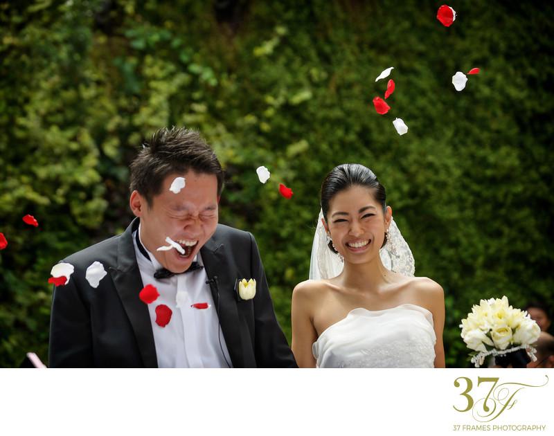 Garden Wedding Ceremony in Queensland