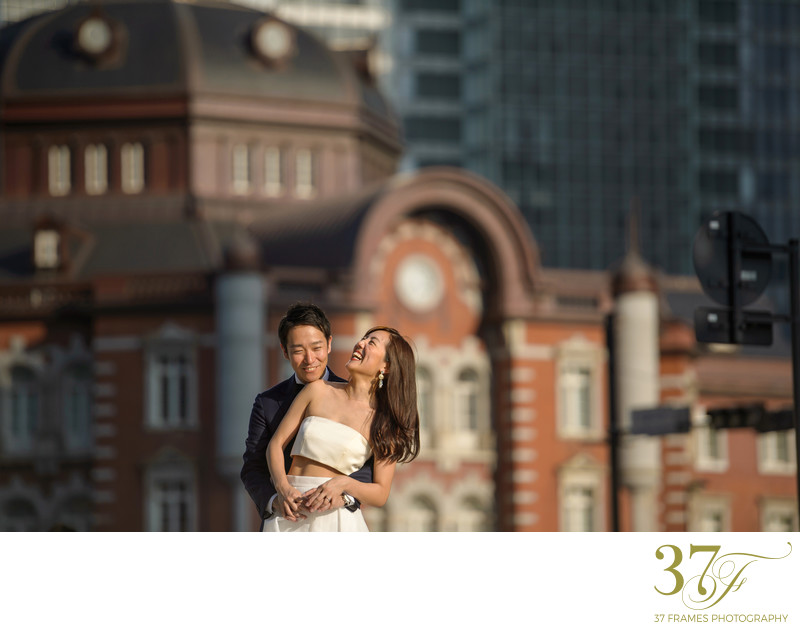 City Pre-wedding photography in Brisbane