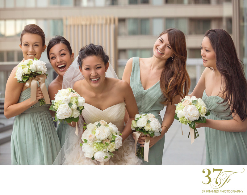 Fun Bridesmaids in Brisbane