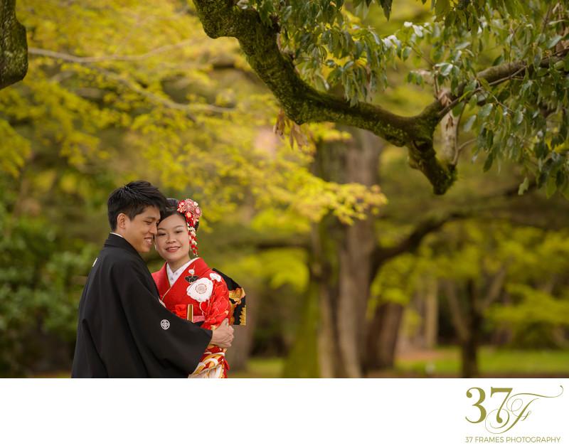 Kimono Prewedding with Brisbane Photographers