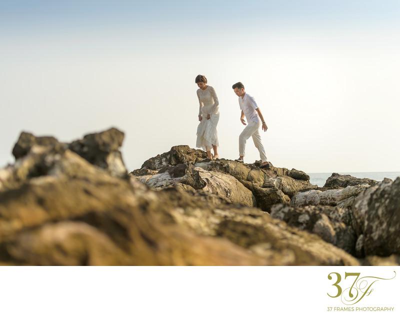 Prewedding on location Photographers Sunshine Coast