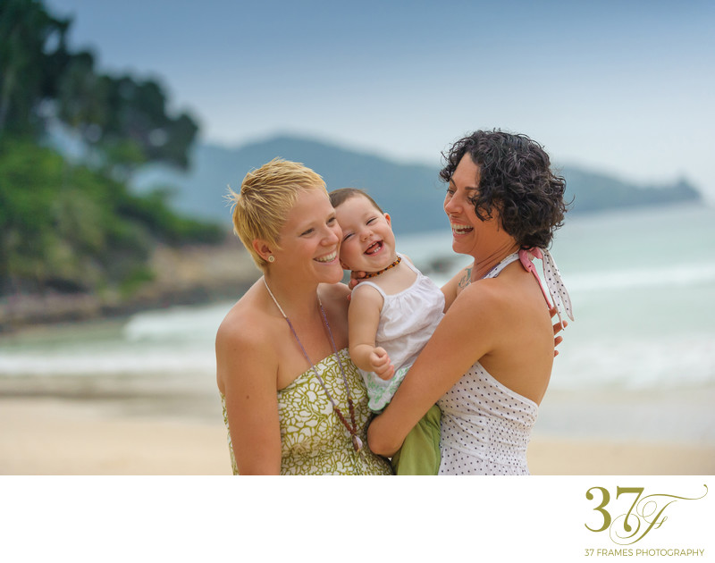 Queensland same-sex family photographers