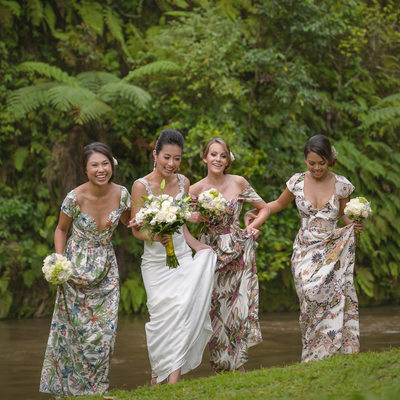 Mismatched Bridesmaids Dresses Australia