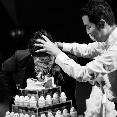 Best wedding cake photography Queensland
