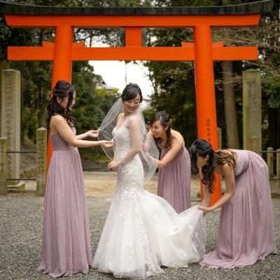 Bridesmaids in Queensland