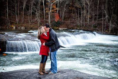 Valley Falls Engagement Portrait - Tim Ray Photography