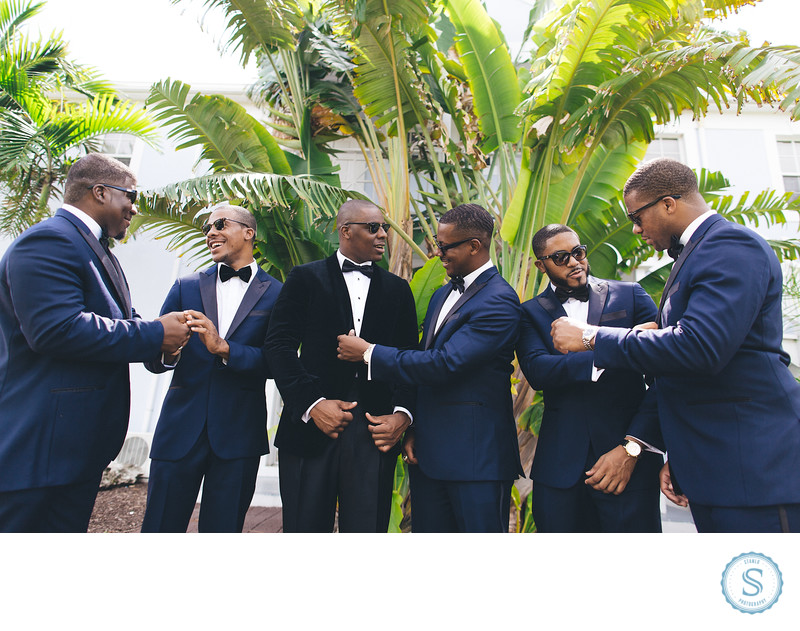 Sandy Port Bahamas Groomsmen