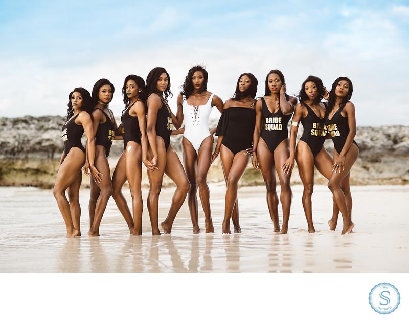 Shaunae Miller Beach Bachelorette Photos-2.