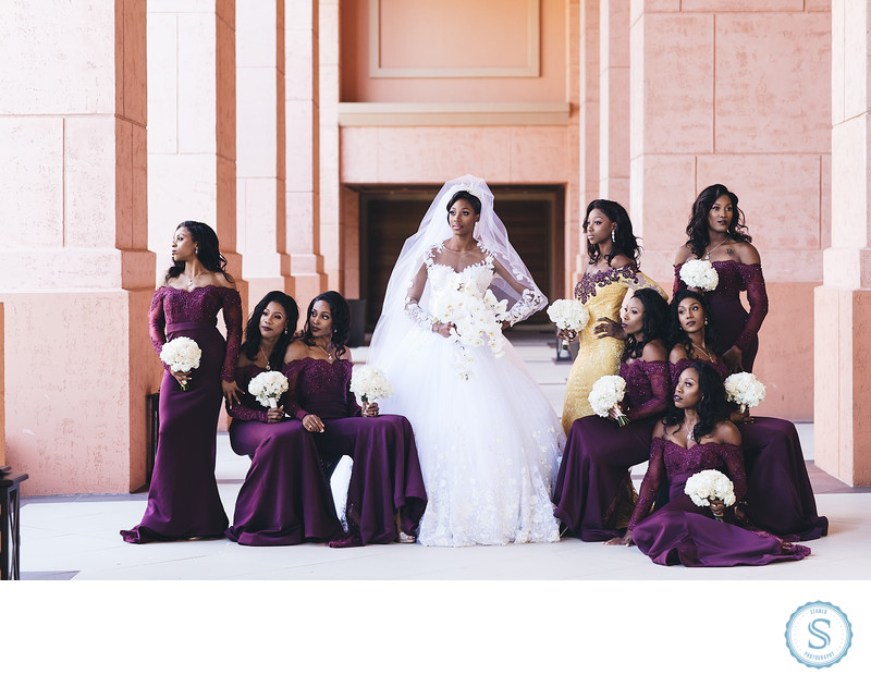 Shaunae Miller Wedding Atlantis