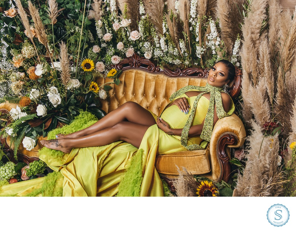 Eva Marcille Maternity Shoot